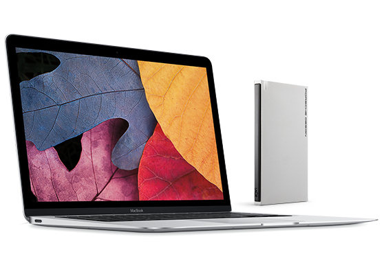 LaCie's New USB-C Mobile Hard Drive Matches The New MacBook Perfectly